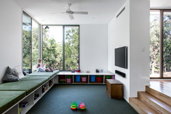 Play room and entertainment area