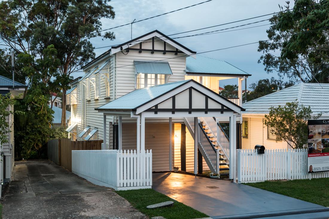 Renovated Queenslander in Brisbane