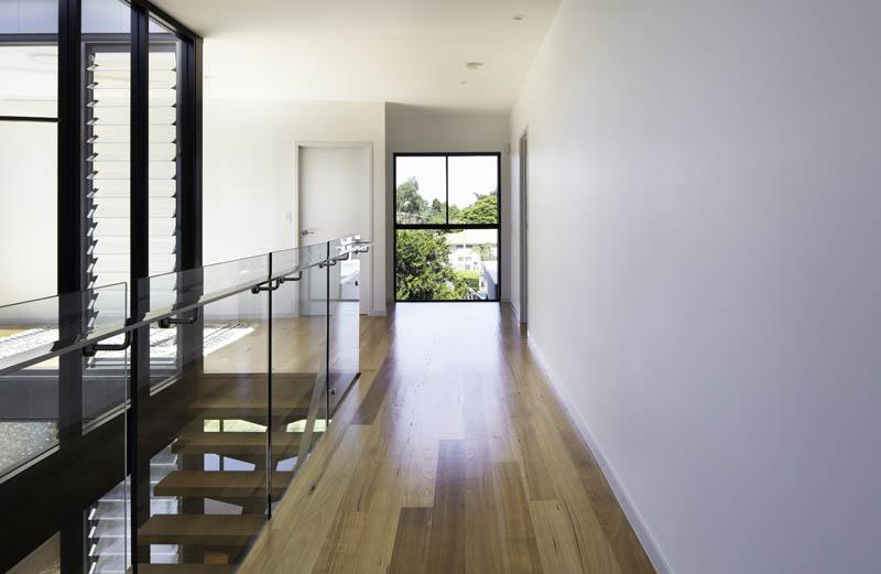 Upstairs area of custom home