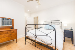Main bedroom in renovated home