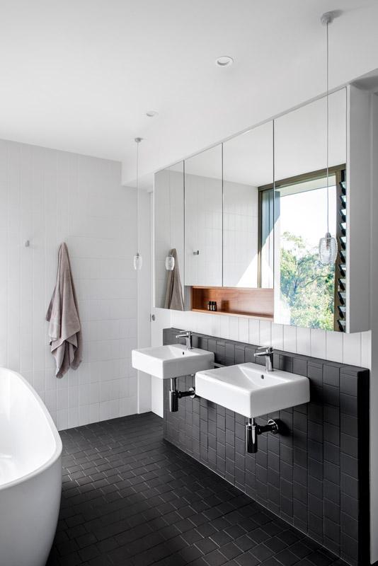 Bathroom with views