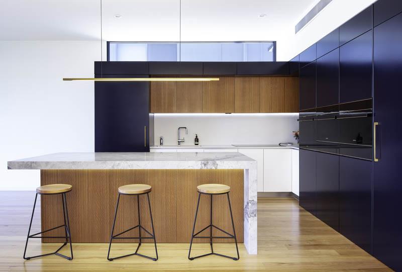 Modern kitchen in custom build