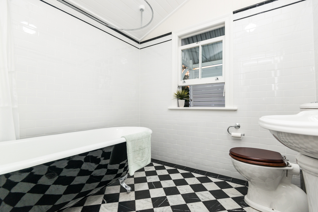 Clawfoot Bathtub in Renovated home