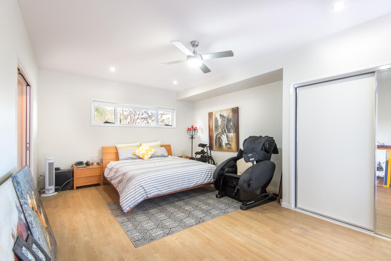 Large bedroom in custom home