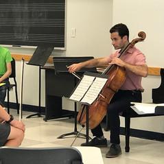 Masterclass by Mickey Katz, Cellist of Boston Symphony Orchestra