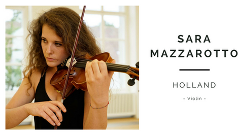 Sara Mazzarotto | Holland