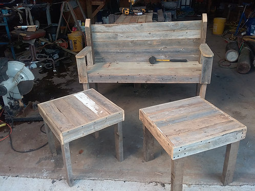 BENCH & TABLE SET