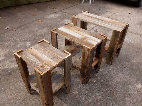 SIDE TABLES 3pc