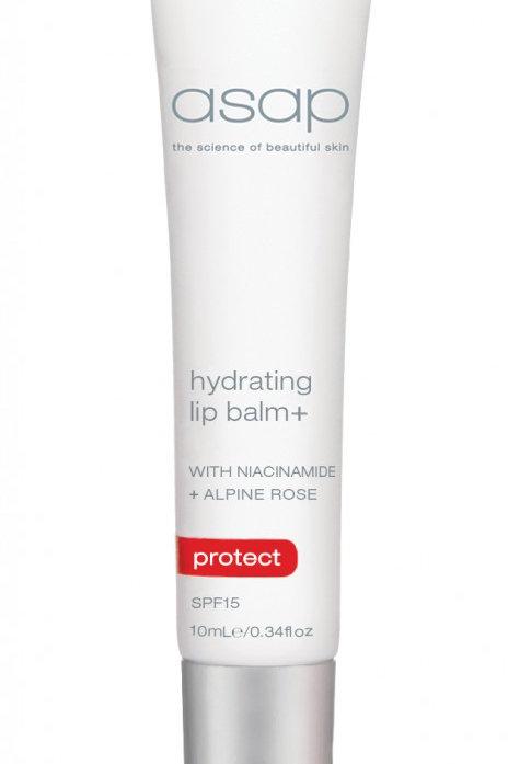 asap hydrating lip balm+ SPF15
