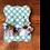 Thumbnail: White Flower Fan Tassel Earrings