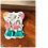 Thumbnail: Teal Triangle Fan Tassel Earrings