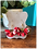 Thumbnail: Red Flower Fan Tassel Earrings