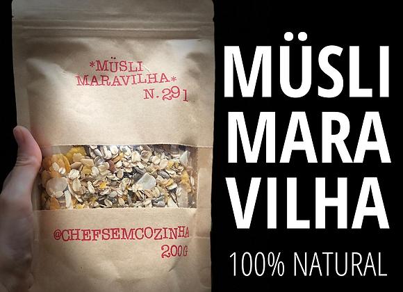 MÜSLI MARAVILHA - 200g
