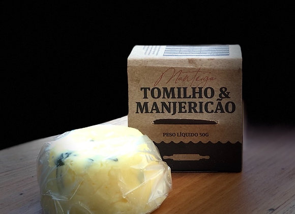 MANTEIGA DE TOMILHO E MANJERICÃO - 50G