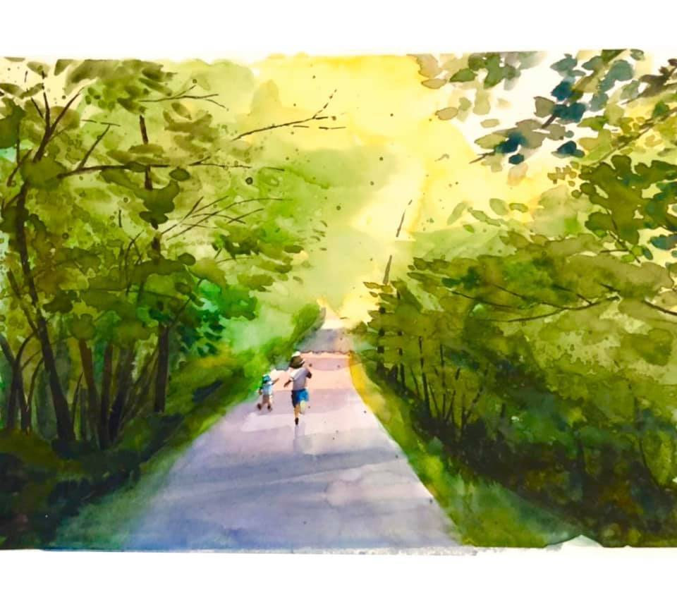 Watercolor Painting-5 Lessons