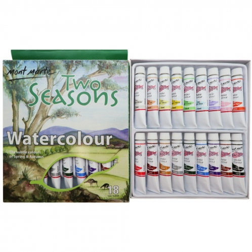 MontMarte Two Seasons Watercolours 18pc x 12ml