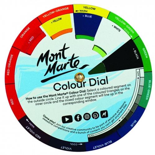 Mont Marte Signature Mini Colour Dial