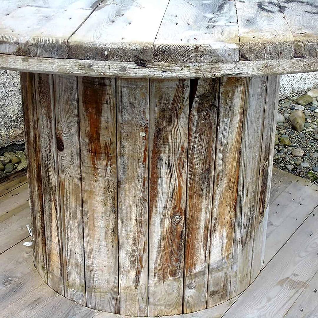 Balnahard Farmhouse driftwood