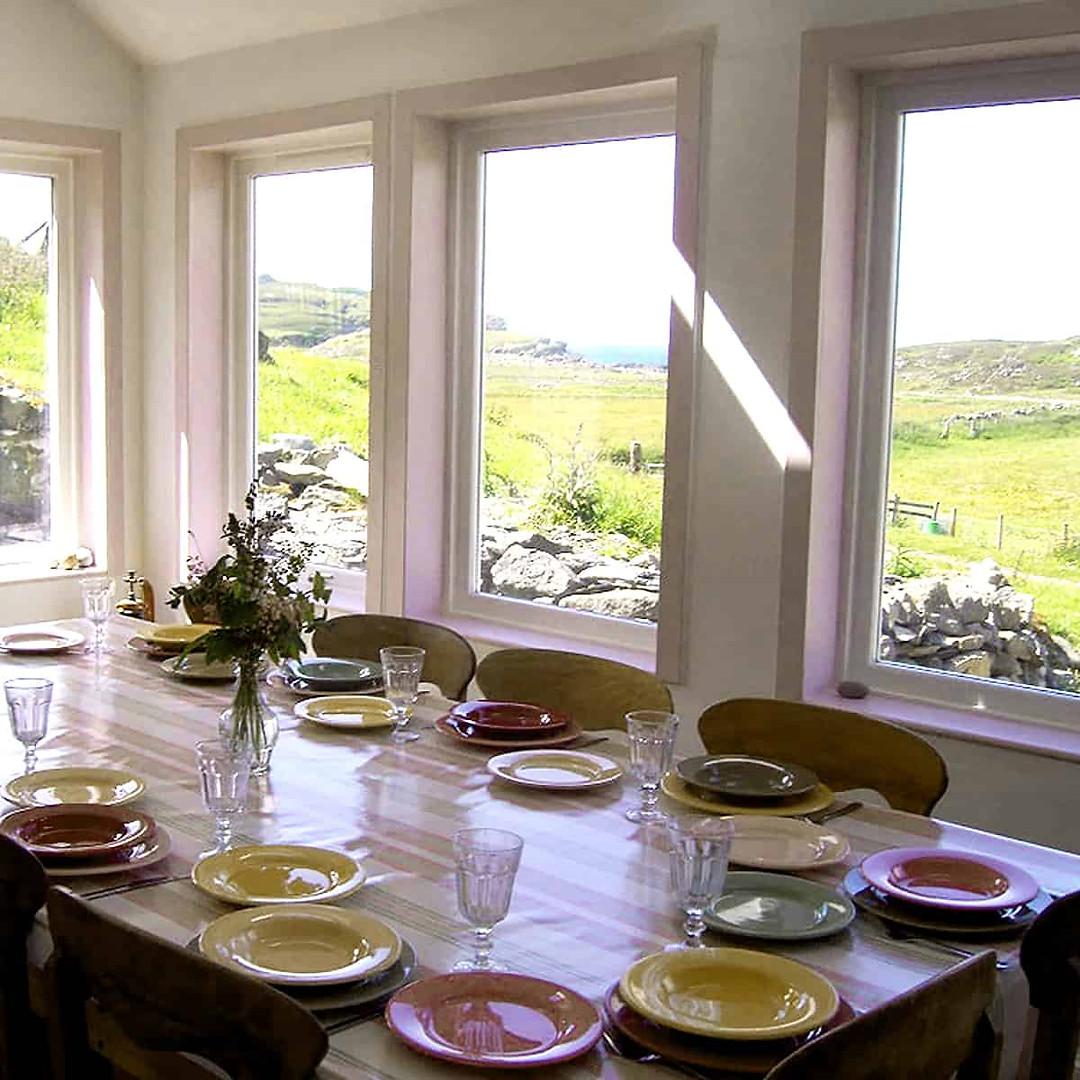 Balnahard Farmhouse dining