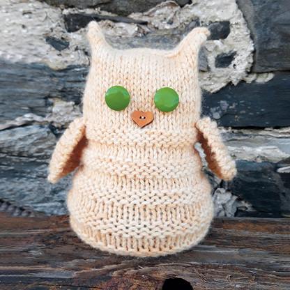 Colonsay Wool Growers Doorstop knitting kit