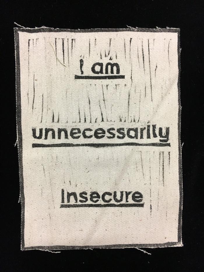 Wearing Feelings - Insecure