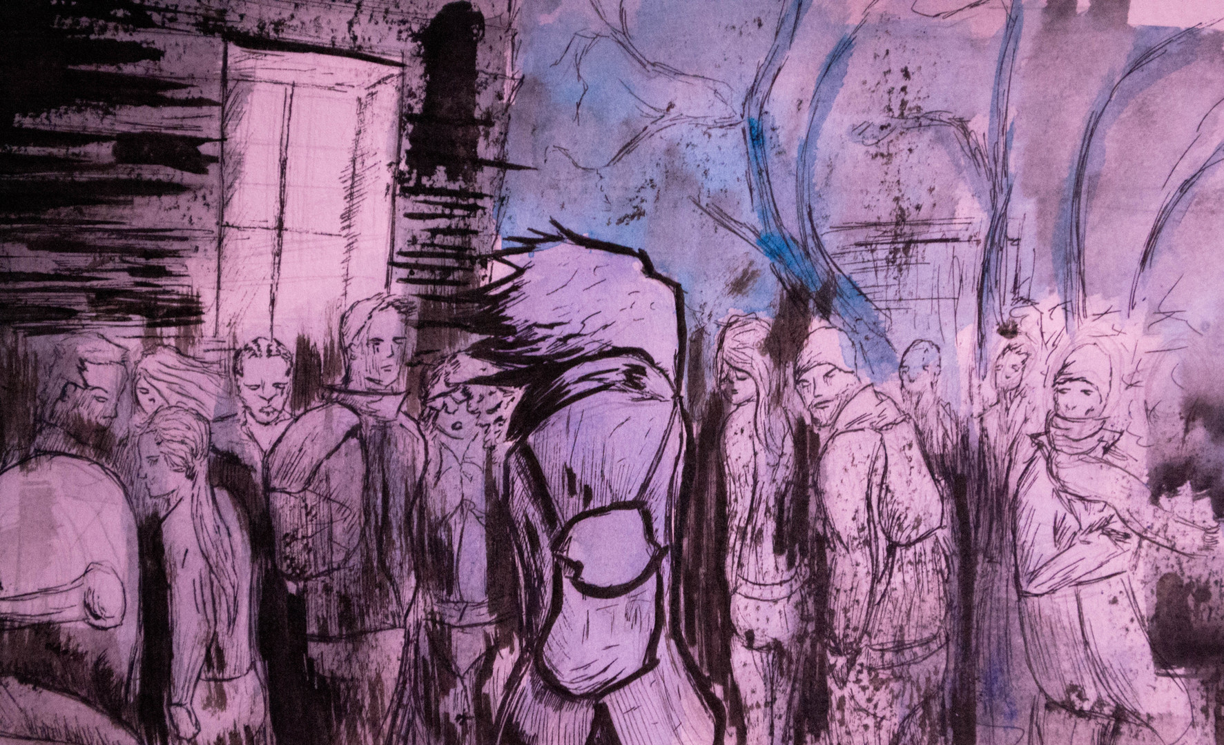 Crowd Anxiety- Detail