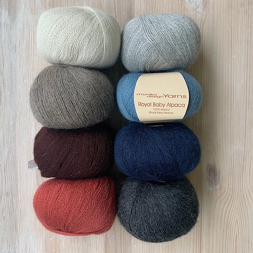 Monika Yarns ROYAL BABY ALPACA