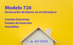 Modelo 720¿Tiene bienes en el extranjero?