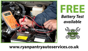 Where can i get my car battery tested and changed in Staffordshire
