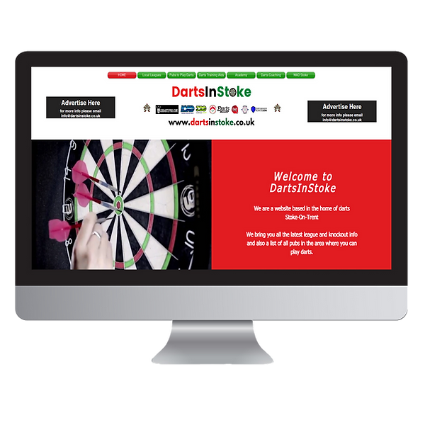 Darts In Stoke Website