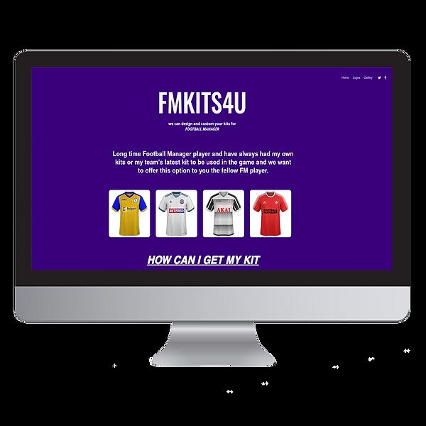 FMKITS4U website Football Manager Kits