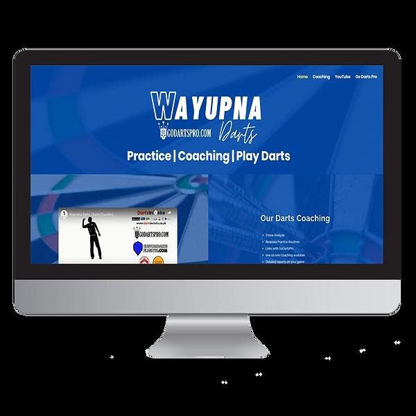 Wayupna Darts Website