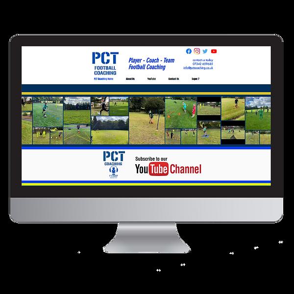 PCT Football Coaching Website