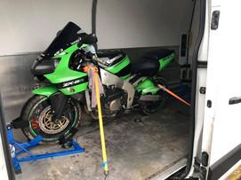 Motorbike Transport in the Midlands