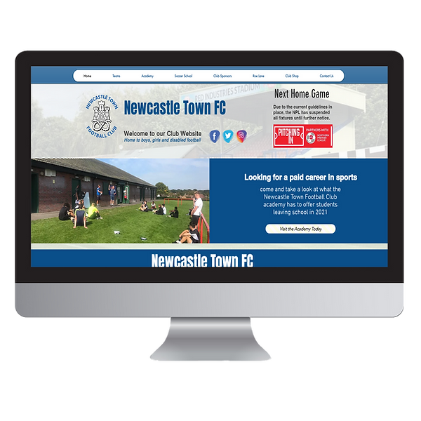 Newcastle Town Football Club Website