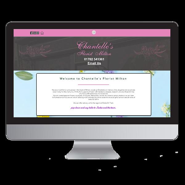 Chantelles Florist Website