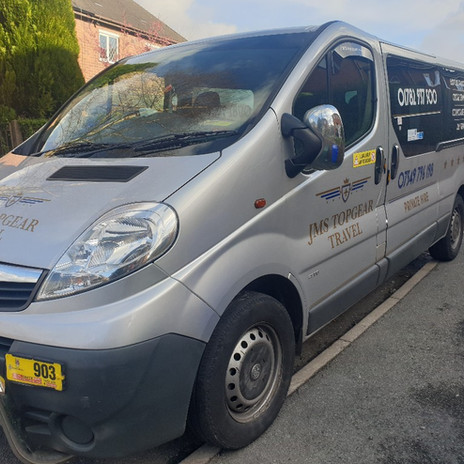 Private Hire for functions in Stoke on Trent with JMS Topgear Travel