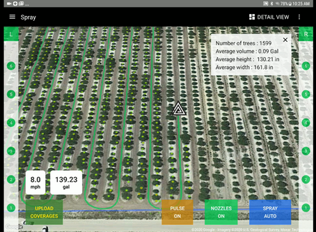 The Smart-Apply® Intelligent Spray Control System™ Now Features Advanced Crop Reporting