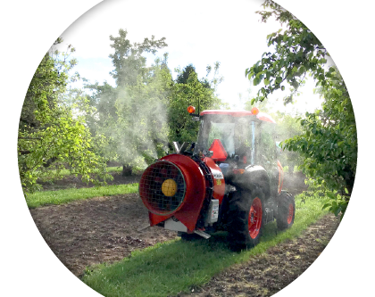 Three Factors that Contribute to Pesticide Drift