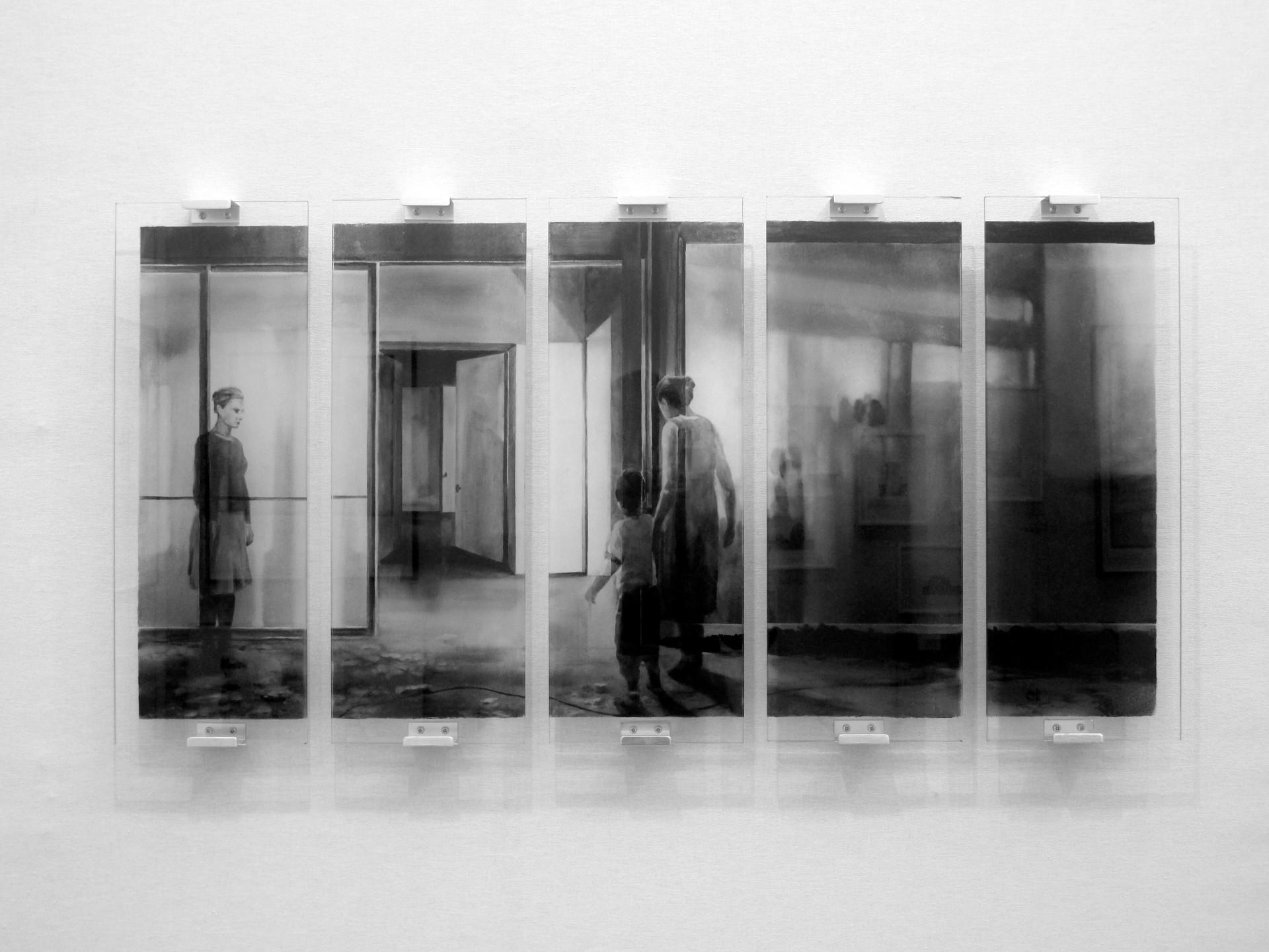 Lenny Rébéré, Sans-titre, 2017, verre gr
