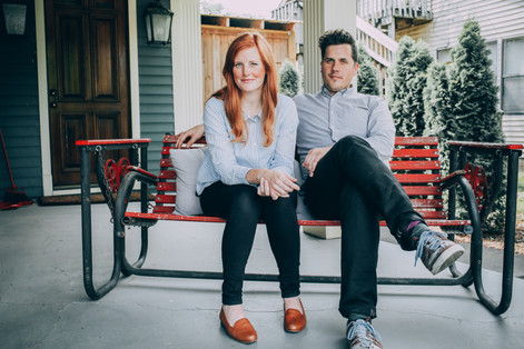 Stephen & Jessica Rose - Owners of 'The Peach Truck'