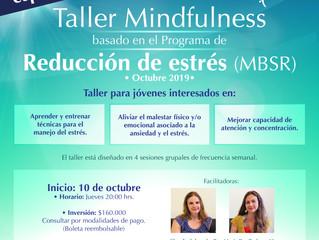 ¡Especial PSU! Taller de Mindfulness basado Reducción de Estrés MBSR
