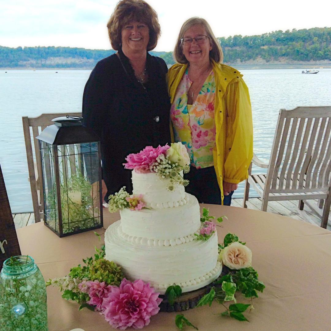 Wedding cake floral designs