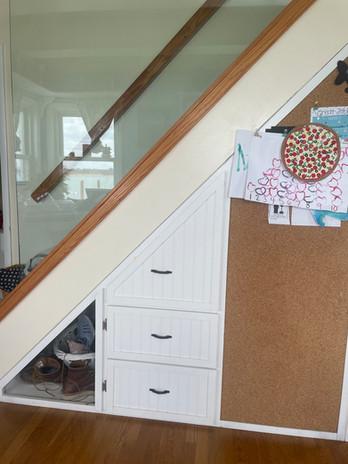 porcheddu under stairs.JPG