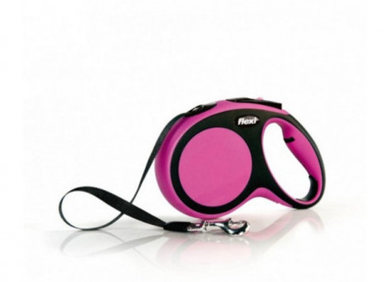 Flexi New Comfort Cinta S 5M Rosa 15 Kg