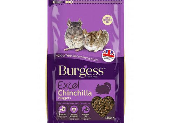 Burgess excel chinchilla 1,5 kg