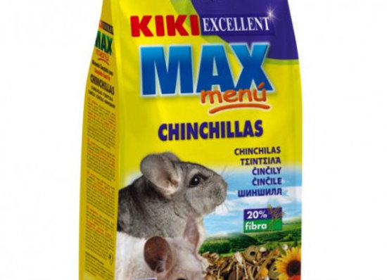 Kiki Max Menu Chinchillas 800gr