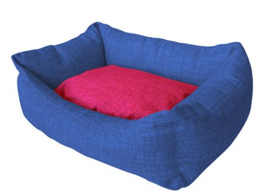 Ver más grande Cuna Azul Marino Rosa Mod.39 40x50cm Cuna Azul Marino Rosa Mod.39