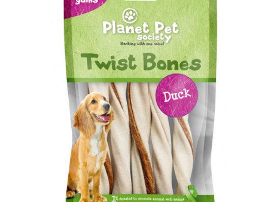 Planet Pet Rollito Dental Pato 5uds. 60gr