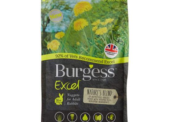 Burgess excel conejo adult hierbas naturales 1,5 kg